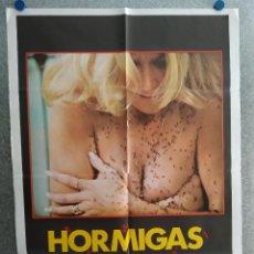 Cine: HORMIGAS. ROBERT FOXWORTH, LYNDA DAY GEORGE, SUZANNE SOMERS. AÑO 1979. POSTER ORIGINAL. Lote 212508452