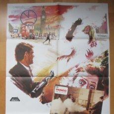 Cine: CARTEL CINE + 12 FOTOCROMOS PANICO DAVID WARBECK 1982 CCF164. Lote 212509266
