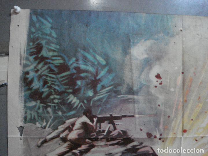 Cine: CDO 4410 INVASION EN BIRMANIA SAMUEL FULLER POSTER ORIGINAL 70X100 ESTRENO - Foto 2 - 212517932