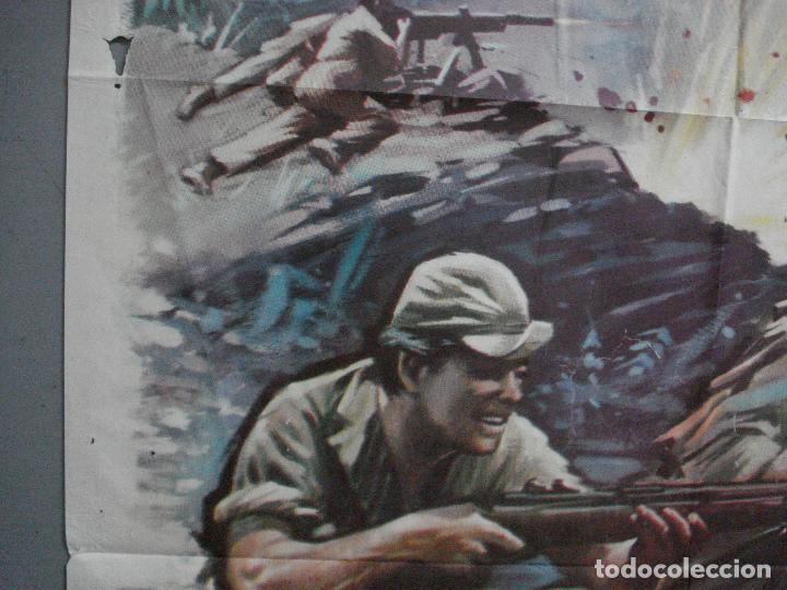 Cine: CDO 4410 INVASION EN BIRMANIA SAMUEL FULLER POSTER ORIGINAL 70X100 ESTRENO - Foto 3 - 212517932