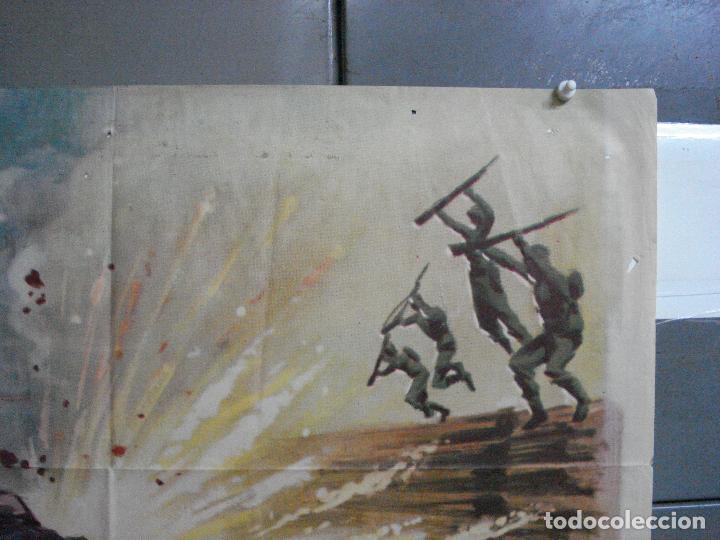 Cine: CDO 4410 INVASION EN BIRMANIA SAMUEL FULLER POSTER ORIGINAL 70X100 ESTRENO - Foto 6 - 212517932