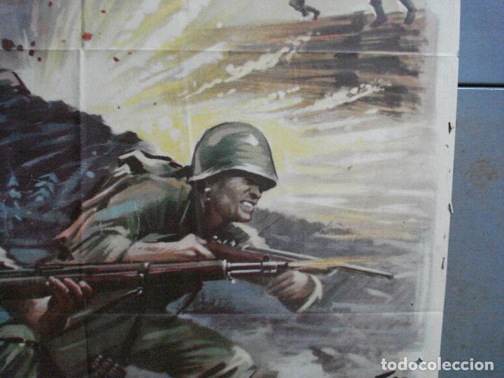 Cine: CDO 4410 INVASION EN BIRMANIA SAMUEL FULLER POSTER ORIGINAL 70X100 ESTRENO - Foto 7 - 212517932