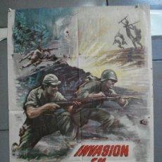 Cine: CDO 4410 INVASION EN BIRMANIA SAMUEL FULLER POSTER ORIGINAL 70X100 ESTRENO. Lote 212517932