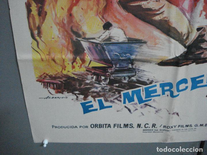 Cine: CDO 4437 EL MERCENARIO RAY DANTON PASCALE PETIT INMA DE SANTIS ALBERICIO POSTER ORIG 70X100 ESTRENO - Foto 5 - 212526373