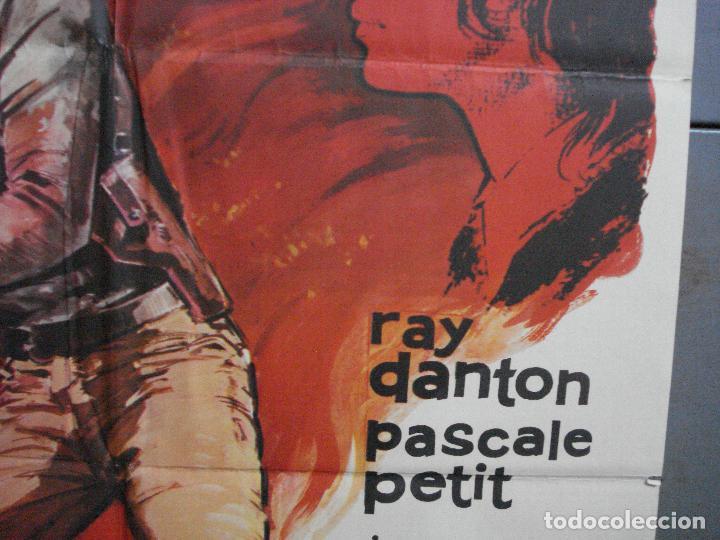 Cine: CDO 4437 EL MERCENARIO RAY DANTON PASCALE PETIT INMA DE SANTIS ALBERICIO POSTER ORIG 70X100 ESTRENO - Foto 7 - 212526373