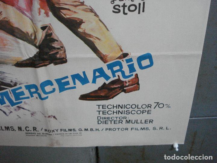 Cine: CDO 4437 EL MERCENARIO RAY DANTON PASCALE PETIT INMA DE SANTIS ALBERICIO POSTER ORIG 70X100 ESTRENO - Foto 9 - 212526373