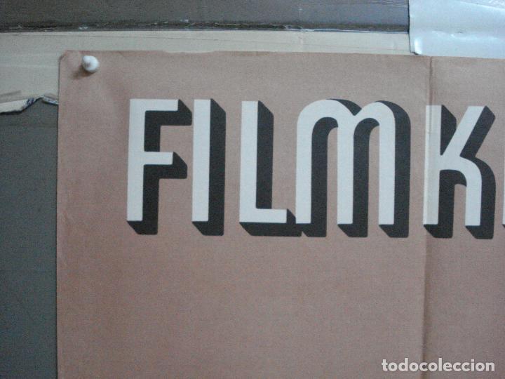 Cine: CDO 4459 CINE CLUB ALEMAN FILMKLUB ERFURT POSTER ORIGINAL ALEMAN 57X80 - Foto 2 - 212548737