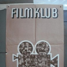 Cine: CDO 4459 CINE CLUB ALEMAN FILMKLUB ERFURT POSTER ORIGINAL ALEMAN 57X80. Lote 212548737