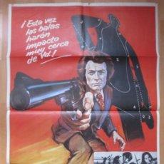 Cine: CARTEL CINE, HARRY EL FUERTE, CLINT EASTWOOD, MCP, 1974, C750. Lote 212577941