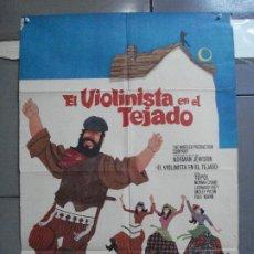 Cine: CDO 4466 EL VIOLINISTA EN EL TEJADO TOPOL POSTER ORIGINAL 70X100 ESTRENO. Lote 212587556
