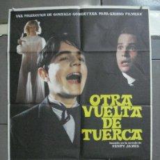 Cine: CDO 4500 OTRA VUELTA DE TUERCA ELOY DE LA IGLESIAS POSTER ORIG 70X100 ESPAÑOL ESTRENO. Lote 212605130