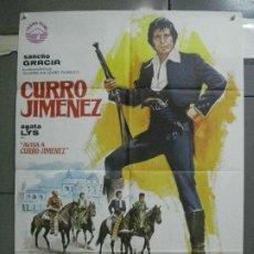 Cine: CDO 4511 AVISA A CURRO JIMENEZ SANCHO GRACIA POSTER ORIGINAL 70X100 ESTRENO. Lote 212607162