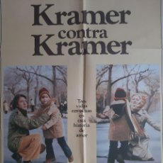 Cinéma: CARTEL CINE KRAMER CONTRA KRAMER DUSTIN HOFFMAN MERYL STREEP 1979 A58. Lote 212611263