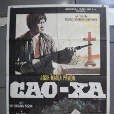 Cine: CDO 4512 CAO-XA JOSE MARIA PRADA POSTER ORIGINAL 70X100 ESTRENO. Lote 212613072