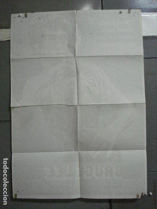 Cine: CDO 4516 BRUCE LEE LA LEYENDA DEL DRAGON POSTER ORIGINAL 70X100 ESTRENO - Foto 10 - 212614832