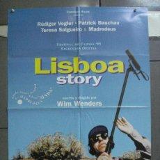 Cine: CDO 4588 LISBOA STORY WIM WENDER POSTER ORIGINAL 70X100 ESTRENO. Lote 212719270