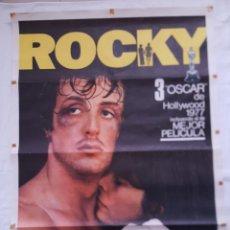 Cine: PÓSTER ORIGINAL ROCKY (1976) SYLVESTER STALLONE. Lote 212720451