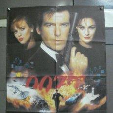 Cine: CDO 4597 GOLDENEYE JAMES BOND 007 PIERCE BROSNAN POSTER ORIGINAL 70X100 ESTRENO. Lote 212760247