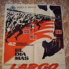Cine: (CINE-3)EL DIA MAS LARGO. JOHN WAYNE, HENRY FONDA, ROBERT MITCHUM. AÑO 1962.. Lote 212786512