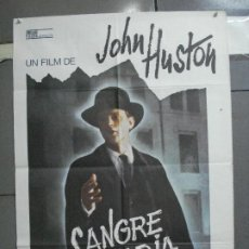 Cine: CDO 4626 SANGRE SABIA JOHN HUSTON POSTER ORIGINAL 70X100 ESTRENO. Lote 212790420
