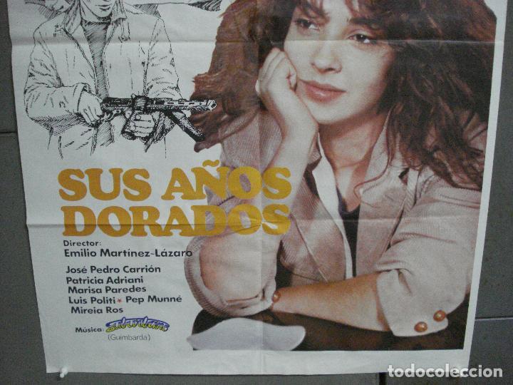Cine: CDO 4628 SUS AÑOS DORADOS PATRICIA ADRIANI EMILIO MARTINEZ-LAZARO POSTER ORIGINAL 70X100 ESTRENO - Foto 3 - 212792918