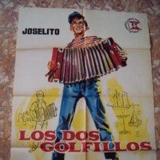 Cine: (CINE-31)LOS DOS GOLFILLOS JOSELITO ANTONIO DEL AMO JANO POSTER ORIGINAL. Lote 212861127