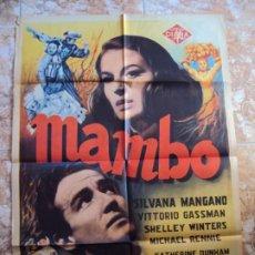 Cinema: (CINE-43)CARTEL MAMBO SILBANA MANGANO ORIGINAL. Lote 212883668