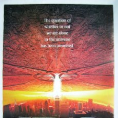 Cine: INDEPENDENCE DAY, CON WILL SMITH. MINI-PÓSTER REPRODUCCIÓN 49 X 68,5 CMS. 1996.. Lote 212918082