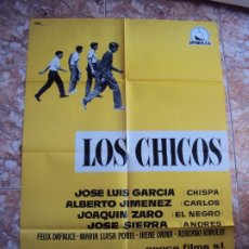 Cine: (CINE-105)LOS CHICOS. MARCO FERRERI. CARTEL ORIGINAL 1959. Lote 213012541
