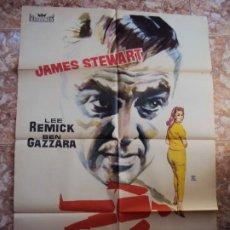 Cine: (CINE-111)ANATOMIA DE UN ASESINATO JAMES STEWART OTTO PREMINGER POSTER ORIGINAL. Lote 213036571