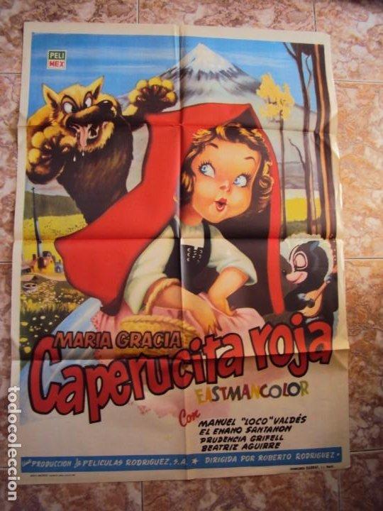 (CINE-112)CAPERUCITA ROJA MARIA GRACIA MANUEL VALDES POSTER ORIGINA (Cine - Posters y Carteles - Infantil)
