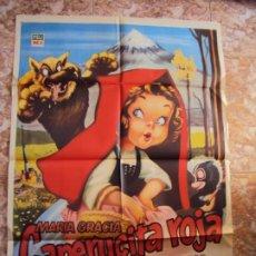 Cinema: (CINE-112)CAPERUCITA ROJA MARIA GRACIA MANUEL VALDES POSTER ORIGINA. Lote 213036603