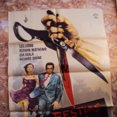 Cine: (CINE-123)BESTIAS DE LA CIUDAD - KERWIN MARHEWS - LEE J. COBB - GIA SCALA - ORIGINAL. Lote 213037672