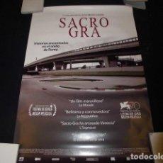 Cine: SACRO GRA - PÓSTER O CARTEL DE CINE ORIGINAL.. Lote 213056577