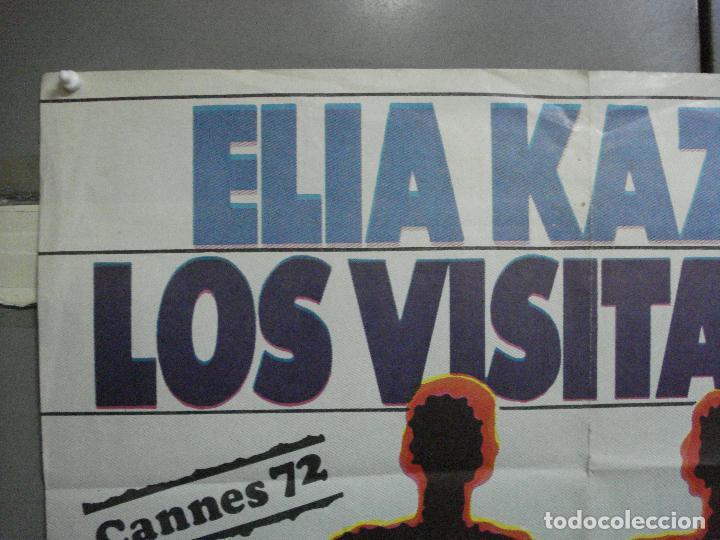 Cine: CDO 4725 LOS VISITANTES ELIA KAZAN POSTER ORIGINAL ESTRENO 70X100 - Foto 2 - 213084066