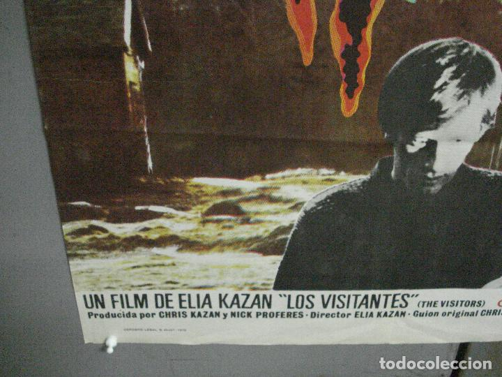 Cine: CDO 4725 LOS VISITANTES ELIA KAZAN POSTER ORIGINAL ESTRENO 70X100 - Foto 5 - 213084066