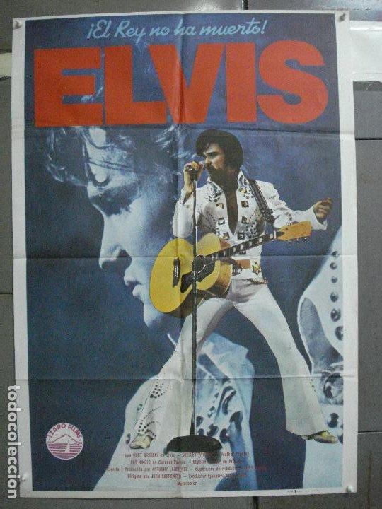 CDO 4772 ELVIS ELVIS PRESLEY JOHN CARPENTER KURT RUSSELL POSTER ORIGINAL 70X100 ESTRENO (Cine - Posters y Carteles - Musicales)