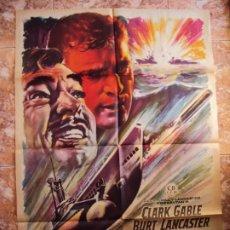 Cinéma: (CINE-264)TORPEDO CLARK GABLE BURT LANCASTER MAC POSTER ORIGINAL. Lote 213245467
