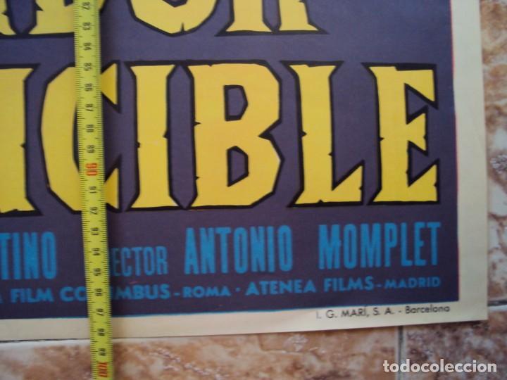 Cine: (CINE-254)EL GLADIADOR INVENCIBLE RICHARD HARRISON PEPLUM POSTER ORIGINAL - Foto 3 - 213247432