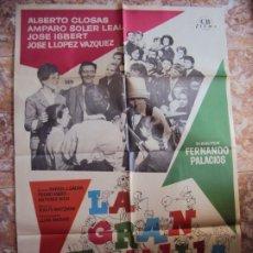 Cine: (CINE-249)LA GRAN FAMILIA ALBERTO CLOSAS JOSE ISBERT MAC POSTER ORIGINAL. Lote 213248103