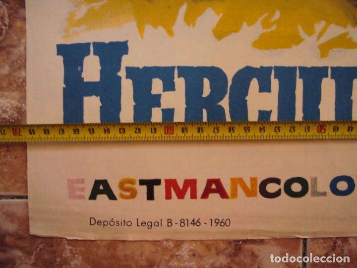 Cine: (CINE-233)HERCULES Y LA REINA DE LIDIA STEVE REEVES PEPLUM JANO POSTER ORIGINAL - Foto 3 - 213257933