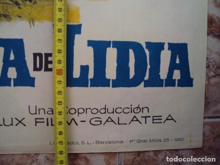 Cine: (CINE-233)HERCULES Y LA REINA DE LIDIA STEVE REEVES PEPLUM JANO POSTER ORIGINAL - Foto 4 - 213257933