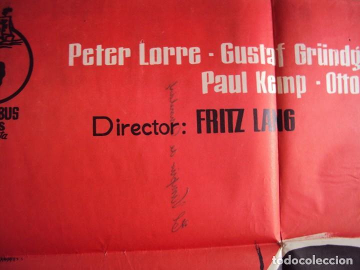 Cine: (CINE-195)EL VAMPIRO DE DUSSELDORF. PETER LORRE, GUSTAF GRÜNDGENS. AÑO 1962 - Foto 2 - 213331313