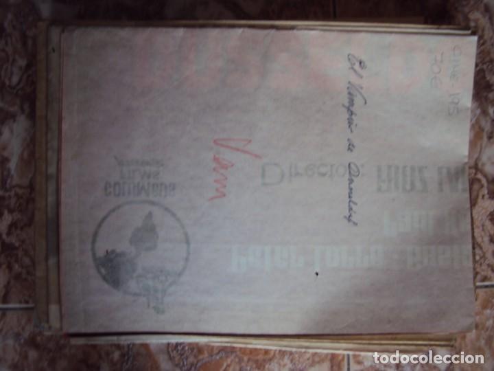 Cine: (CINE-195)EL VAMPIRO DE DUSSELDORF. PETER LORRE, GUSTAF GRÜNDGENS. AÑO 1962 - Foto 5 - 213331313