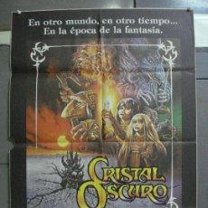 Cinema: CDO 4835 CRISTAL OSCURO FRANK OZ JIM HENSON CIENCIA FICCION POSTER ORIGINAL 70X100 ESTRENO. Lote 213337057