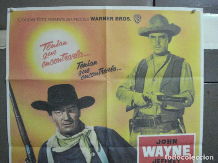 Cine: CDO 4842 CENTAUROS DEL DESIERTO the searchers JOHN WAYNE JOHN FORD POSTER ORIG 70X100 ESPAÑOL R90S - Foto 2 - 213343527