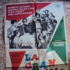 Cine: (CINE-285)LA GRAN FAMILIA ALBERTO CLOSAS JOSE ISBERT MAC POSTER ORIGINAL. Lote 213449697