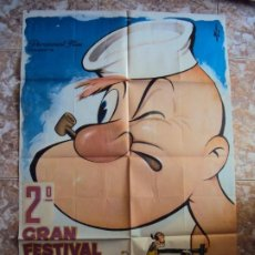 Cine: (CINE-286)GRAN FESTIVAL DE POPEYE DGZ POSTER ORIGINAL ESTRENO. Lote 213449803