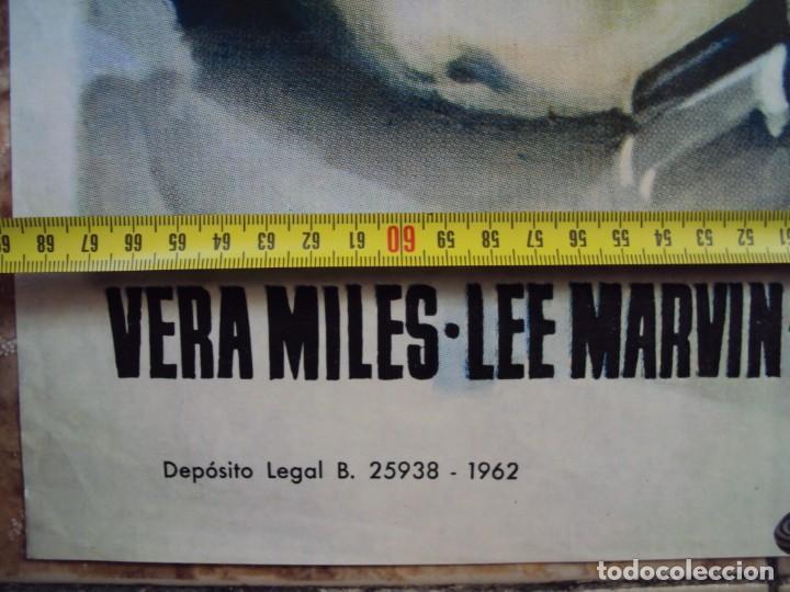 Cine: (CINE-297)EL HOMBRE QUE MATO A LIBERTY VALANCE JOHN WAYNE FORD STEWART MCP POSTER ORIGINAL - Foto 3 - 213450647