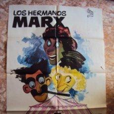 Cine: (CINE-334)UNA TARDE EN EL CIRCO. HERMANOS MARX. CARTEL ORIGINAL AÑOS 60. Lote 213478561